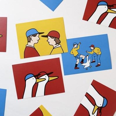 보이앤걸 포스트 카드