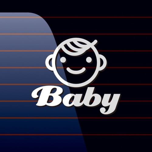 캐찹 자동차스티커 아이콘 Baby_06