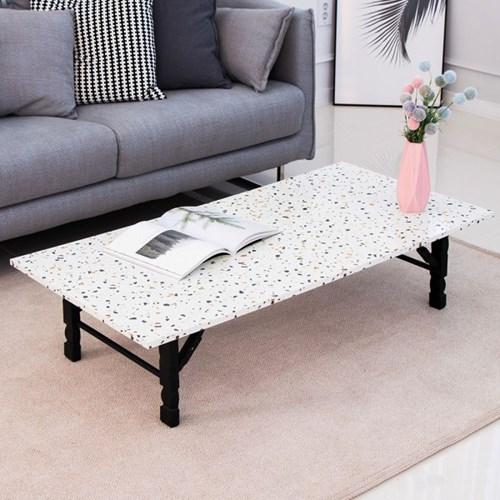 테라조 1200 접이식 좌식 테이블/좌탁/소파테이블