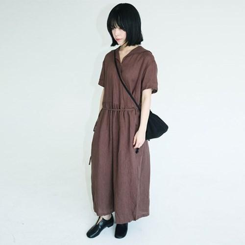 daily linen saera wrap dress (2colors)_(1285756)