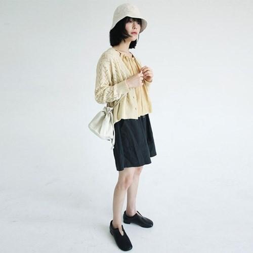 linen banding short pants (3colors)_(1285750)