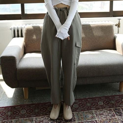 lightly linen cargo pants (3colors)_(1285415)