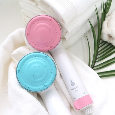 도레이(TORAY) 피부장벽보호 샤워기(블루/핑크)-피부,두피,모발보호