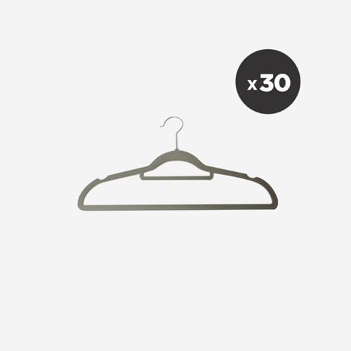 [올리빙] 논슬립 여성용 옷걸이 30P