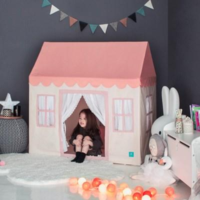 [쁘띠메종] 플레이하우스 핑크크림 2size