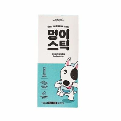 강아지 탈취제 멍이스틱 1상자 천연광물 미생물 탈취제