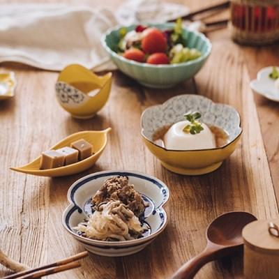 일본 코하루 도자기 디저트접시 그릇 찬기 모음전 8타입_(1333833)