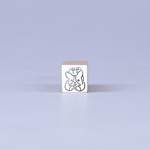 [노낫네버] 웰시코기 우드 스탬프