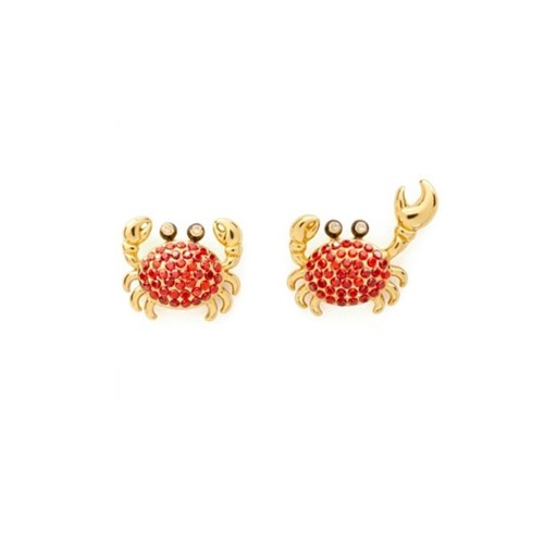 케이트스페이드 O0RU2789 Shore Thing Pave Crab Studs_(1239078)