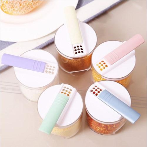 실속형 파스텔 조미료통 1개(색상랜덤)