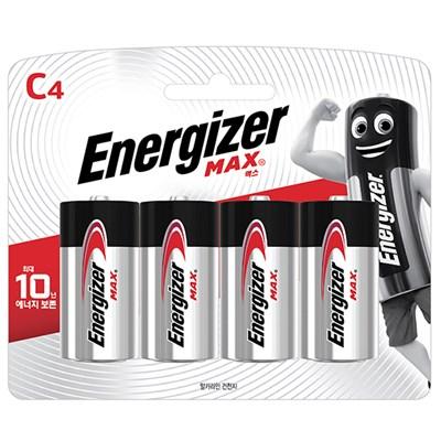 에너자이저 맥스 (C4입)(4알)