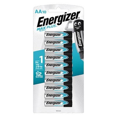 에너자이저 맥스 플러스 AA10입(10알)