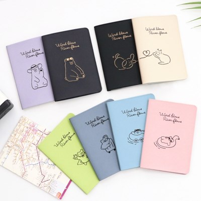코니테일 플라잉 여권케이스 (여권지갑 커버 가족 커플)