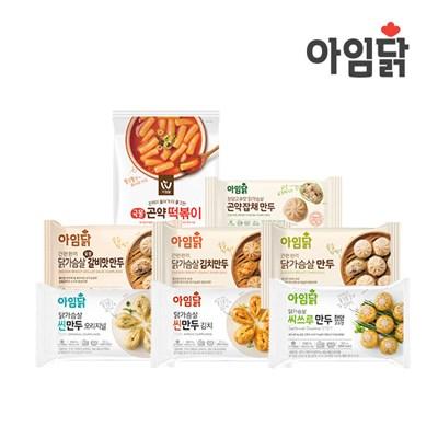 [아임웰] 국물 곤약 떡볶이 200g + 아임닭 만두 SET