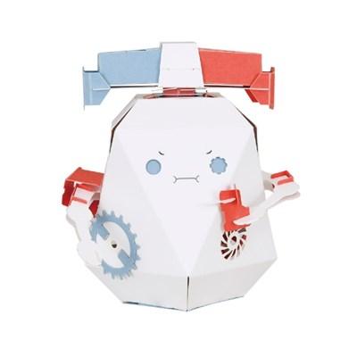 [로보트리] 움직이는 종이로봇 로빗 경찰 포리