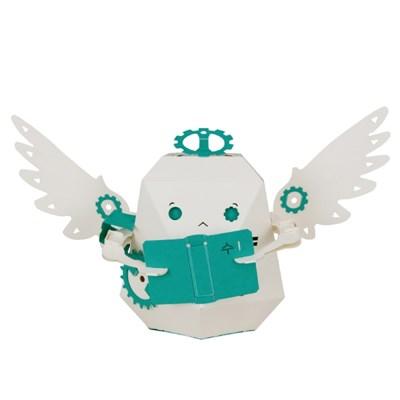 [로보트리] 움직이는 종이로봇 로빗 2학년 천사 프린