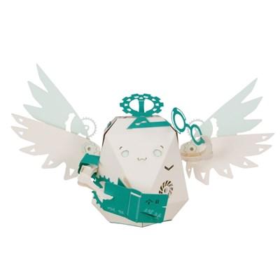 [로보트리] 움직이는 종이로봇 로빗 졸업반 천사 도미