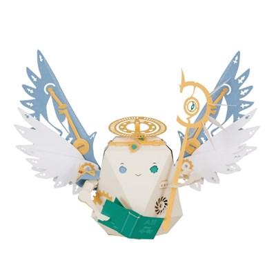 [로보트리] 움직이는 종이로봇 로빗 교수 천사 메타