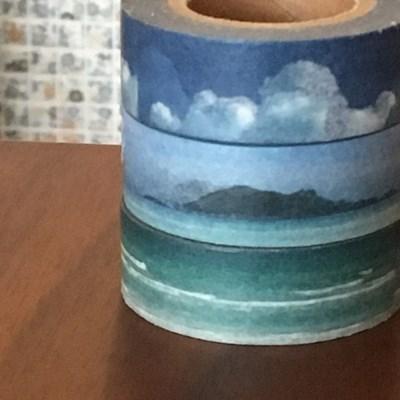 살롱드바당 마스킹테이프 - 구름과 바다