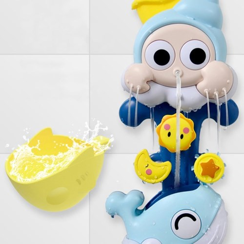 소라와고래 빙글빙글 유아 목욕놀이 아기 물놀이 장난감