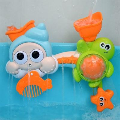 소라와거북이 빙글빙글 유아 목욕놀이 유아 물놀이 장난감