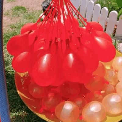 물풍선 다발 자동 제조기 111개 물놀이 행사 파티 용품