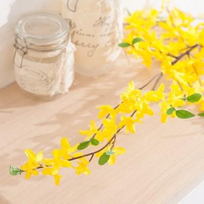 개나리가지125cm FAIAFT 조화 꽃 인테리어소품_(1340771)