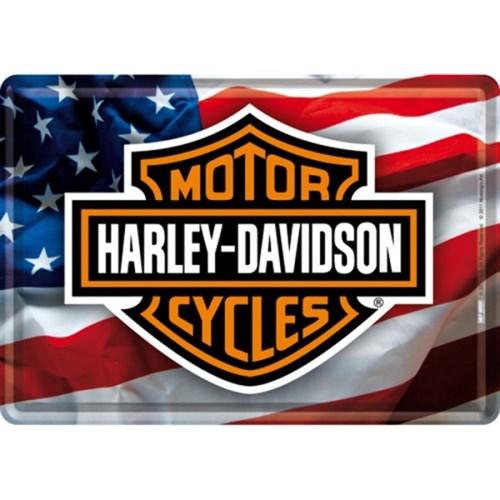 노스텔직아트[10120] Harley-Davidson USA Logo