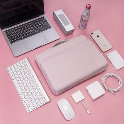A14 맥북 아이패드프로 노트북 가방 13인치-13.5인치 베이비핑크
