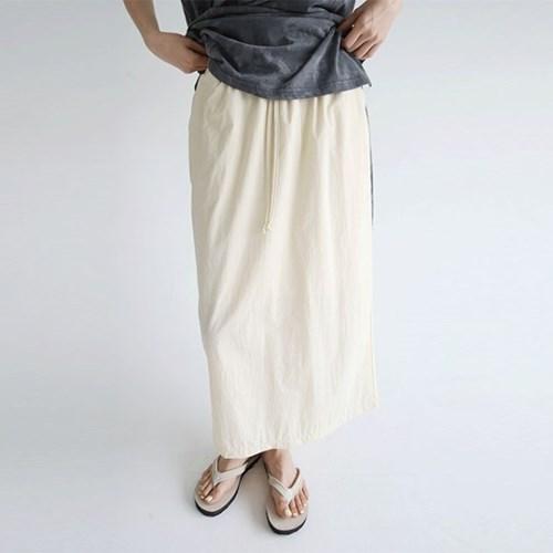 crispy texture basic skirts (3colors)_(1297903)