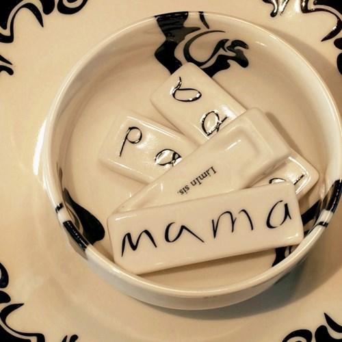Mama Papa _ four spoon rest
