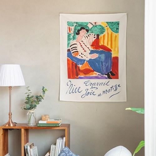 마티스 여인 패브릭 포스터