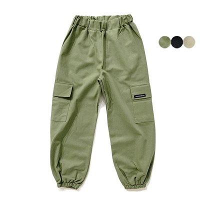 linen cargo banding pants(3color) 린넨 카고 밴딩 팬츠