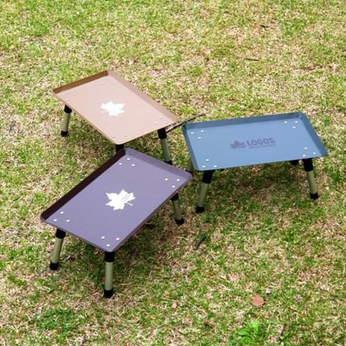 로고스 하드 미니 테이블 야외용 소형 탁자 휴대용