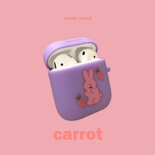 [뮤즈무드] carrot airpods case (에어팟케이스)