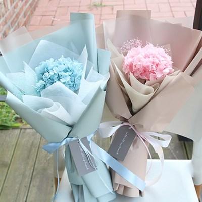 프리저브드수국꽃다발(핑크,블루)