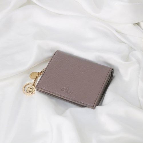 [별자리키링 증정] Minette Half Wallet - Purple