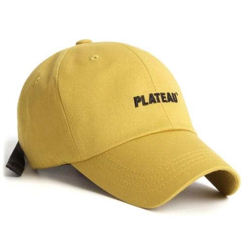 19 JW PLATEAU CAP_YELLOW