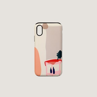 (터프/카드수납) Daily scenery phone case