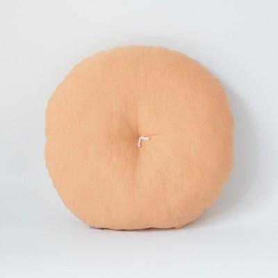 린넨 미니 방석 (샐먼오렌지)
