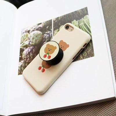 브라운체리 180 삼성갤럭시 폰케이스&스마트톡
