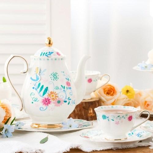 [디즈니] 앨리스_Tea Pot set (티팟+찻잔2인조)