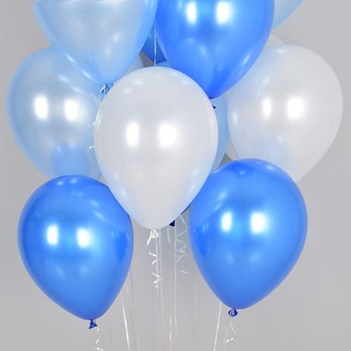 천장풍선 장식세트 블루오션