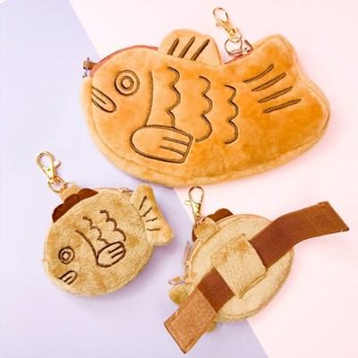 [맙소사잡화점] 붕어빵 동전지갑 키링