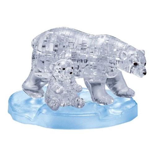 40피스 크리스탈퍼즐 - 북극곰