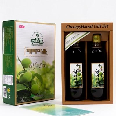 홍쌍리 유기농매실 매실청 선물세트6호 (600mlx2병)