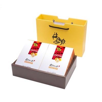 문경미소 착즙 프리미엄 오미자유자청 파우치 2박스 선물세트