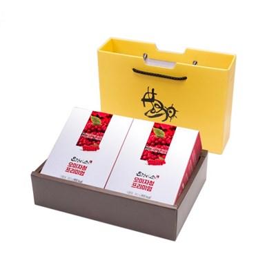 문경미소 착즙 프리미엄 오미자청 파우치 2박스 선물세트