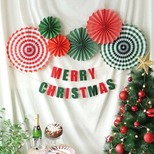 심플 파티 장식세트 (크리스마스)