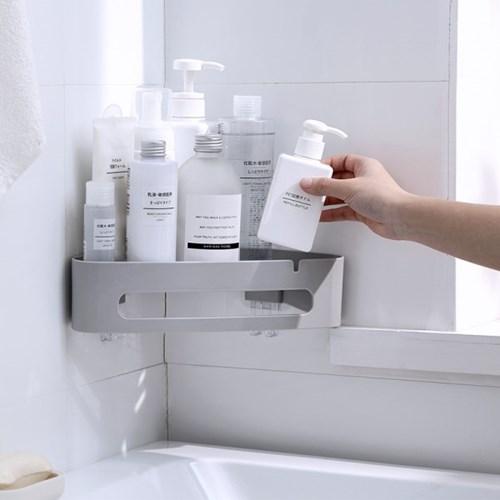 [아토소] 욕실 리모델링 코너선반